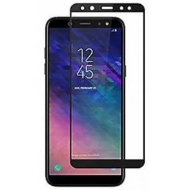 گلس تمام چسب برای موبایل Samsung A6 plus