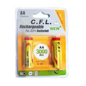 باتری قلمی AA شارژی CFL 3000