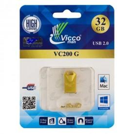 فلش مموري ویکومن مدلVC200ظرفيت 32گيگابايت طلایی
