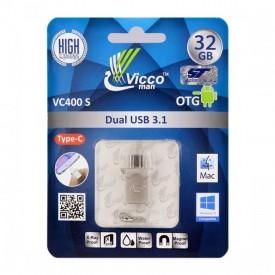 فلش مموریType-Cویکومن مدل VC400ظرفیت32گیگابایتUSB3.1